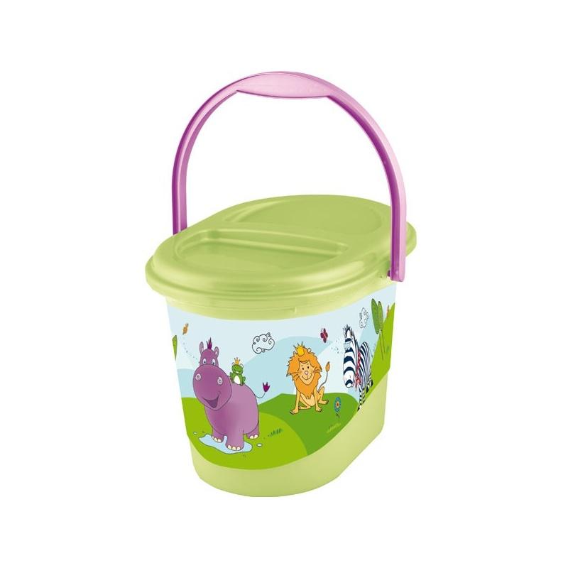 Koš na pleny | Prima Baby | Hippo | zelený