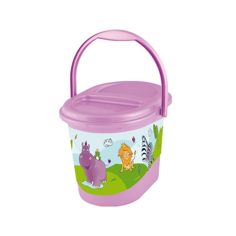 Koš na pleny | Prima Baby | Hippo | fialový