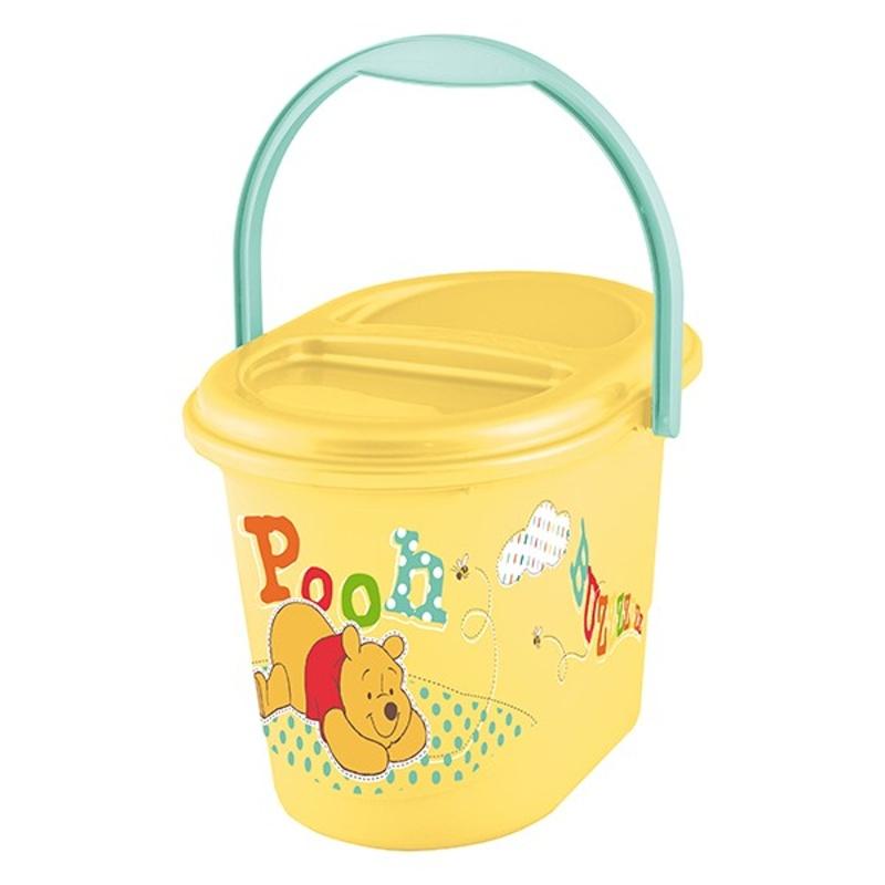 Koš na pleny | Prima Baby | Medvídek Pú | Winnie Pooh | žlutý