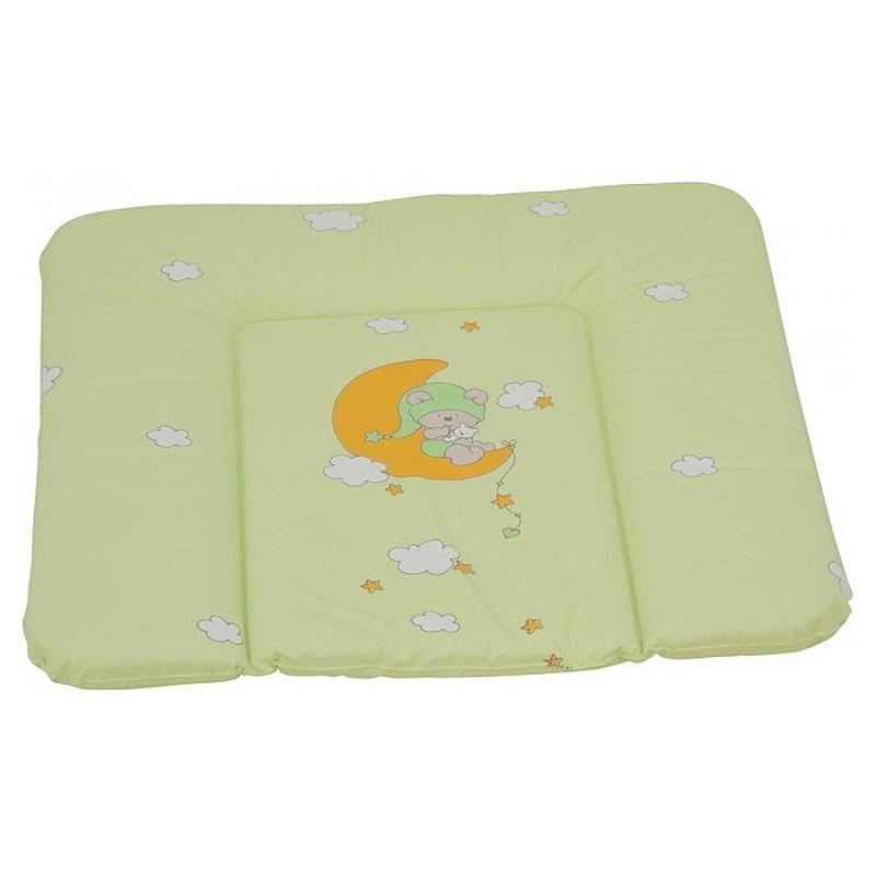 přebalovací podložka zelená s obrázkem