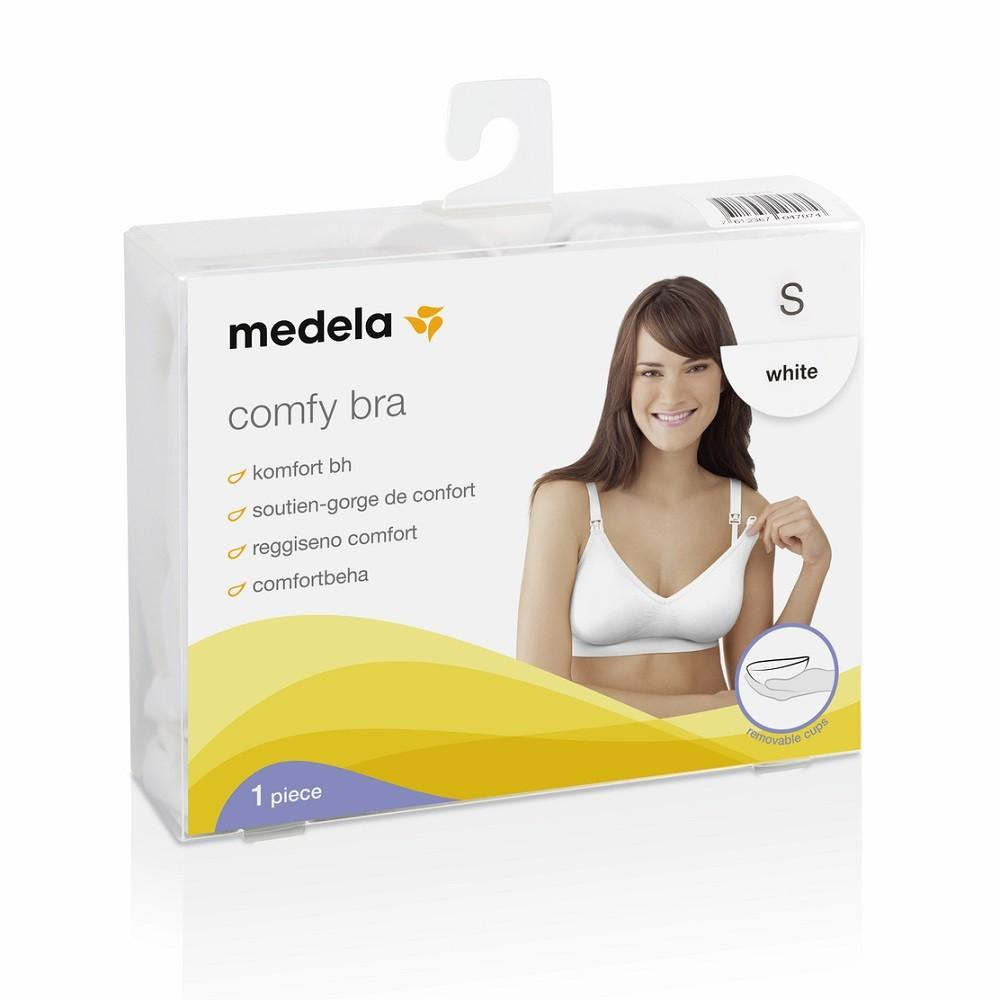 973e6d11d Těhotenská a kojící podprsenka | Medela Comfy | bílá | velikost M